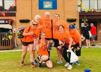 Womens Softball Cricket Festival team 1 June 2018
