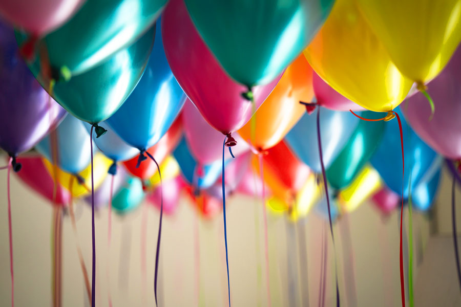 Ask us about our helium balloon service for your special occasion