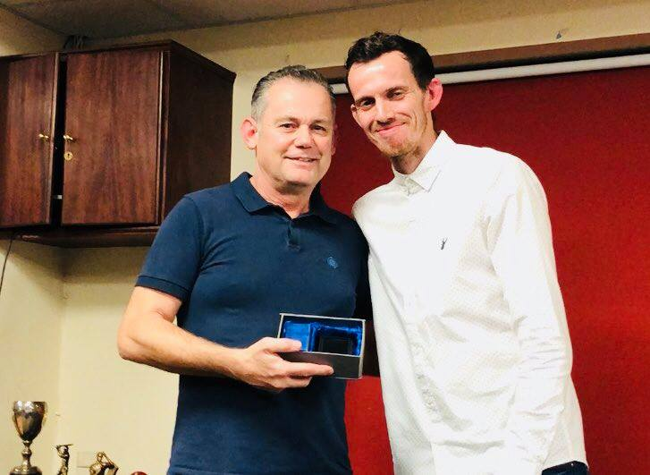 Presentation Night 2018 2nd XI Captains Award Dave Watson
