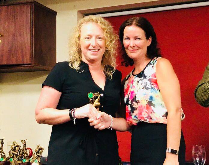 Presentation Night 2018 Women's Fielding Award Shirlee Wilcock