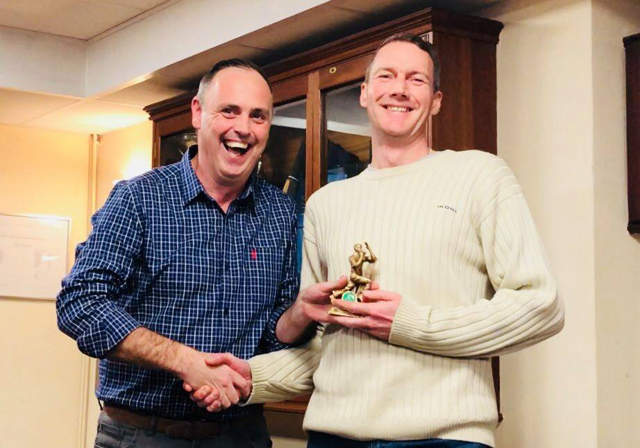 Presentation Night 2018 3rd XI Bowling Award Martin Burnett