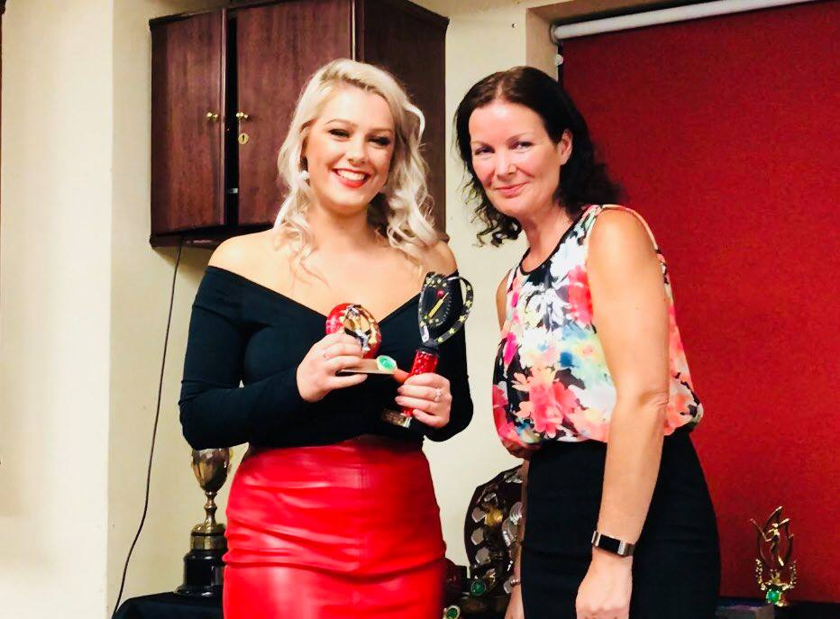 Presentation Night 2018 Women's Players Player Award Sophie Gunston