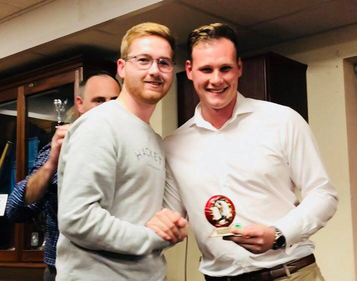 Presentation Night 2018 1st XI Players Player Tom Higson