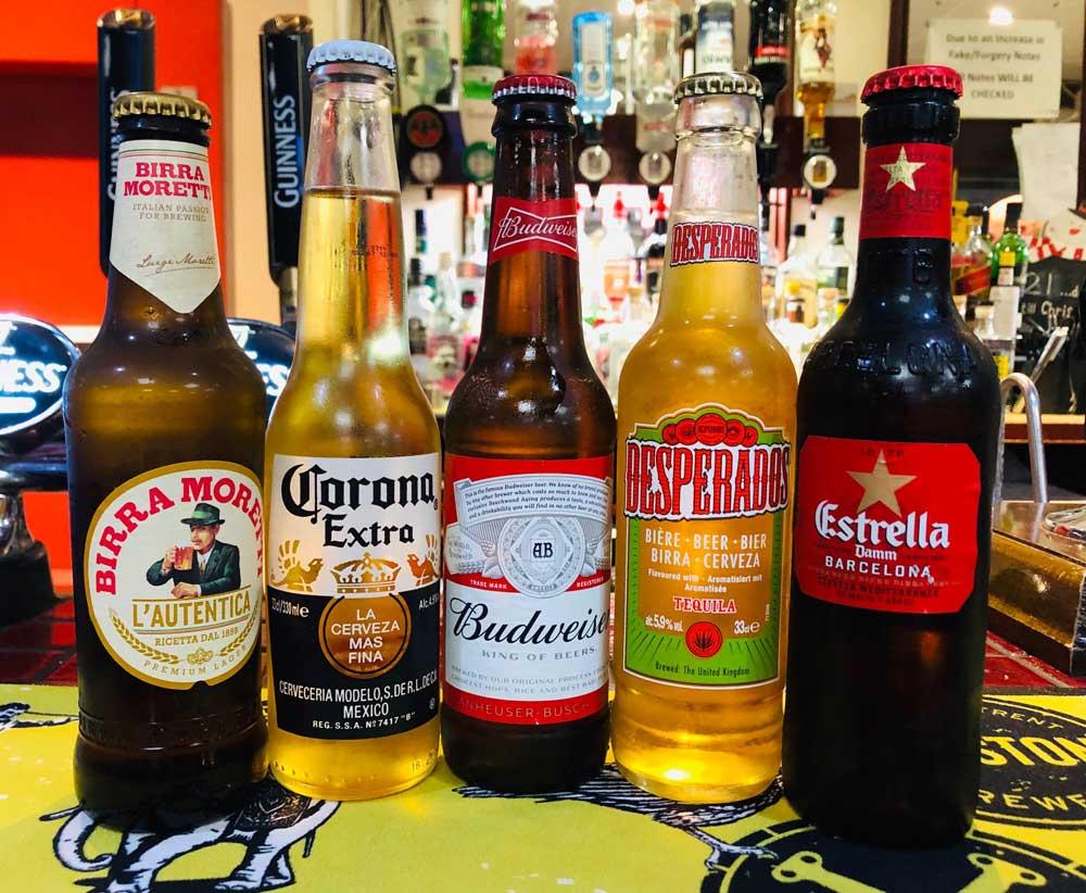 Superb 5 bottle drinks offer at St Annes CC