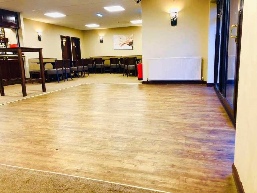 Function room dance floor