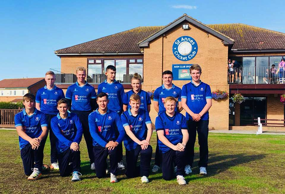 U19 St Annes Cannons T20 squad