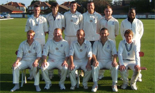 St Annes CC 2nd XI 2008 Northern Premier Cricket League Champions