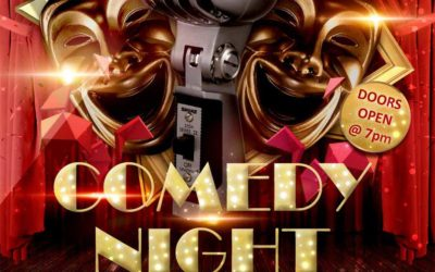 Comedy Night Fri 29 March 2019 – Because laughter is THE best medicine…