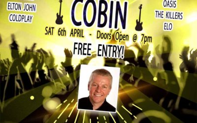 SUPERB SOLO VOCAL GUITARIST  SAT 6 APRIL 2019 – FREE ENTRY!