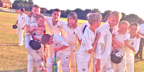 View the junior cricket photo archive