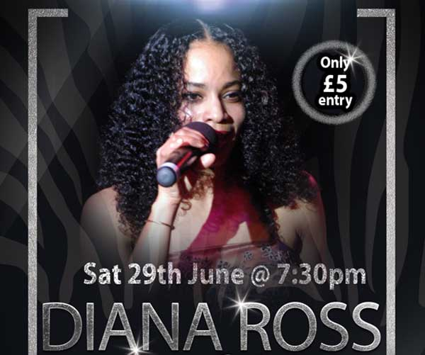 Diana Ross & Soul Tribute Act Elicia Sat 29 June 2019