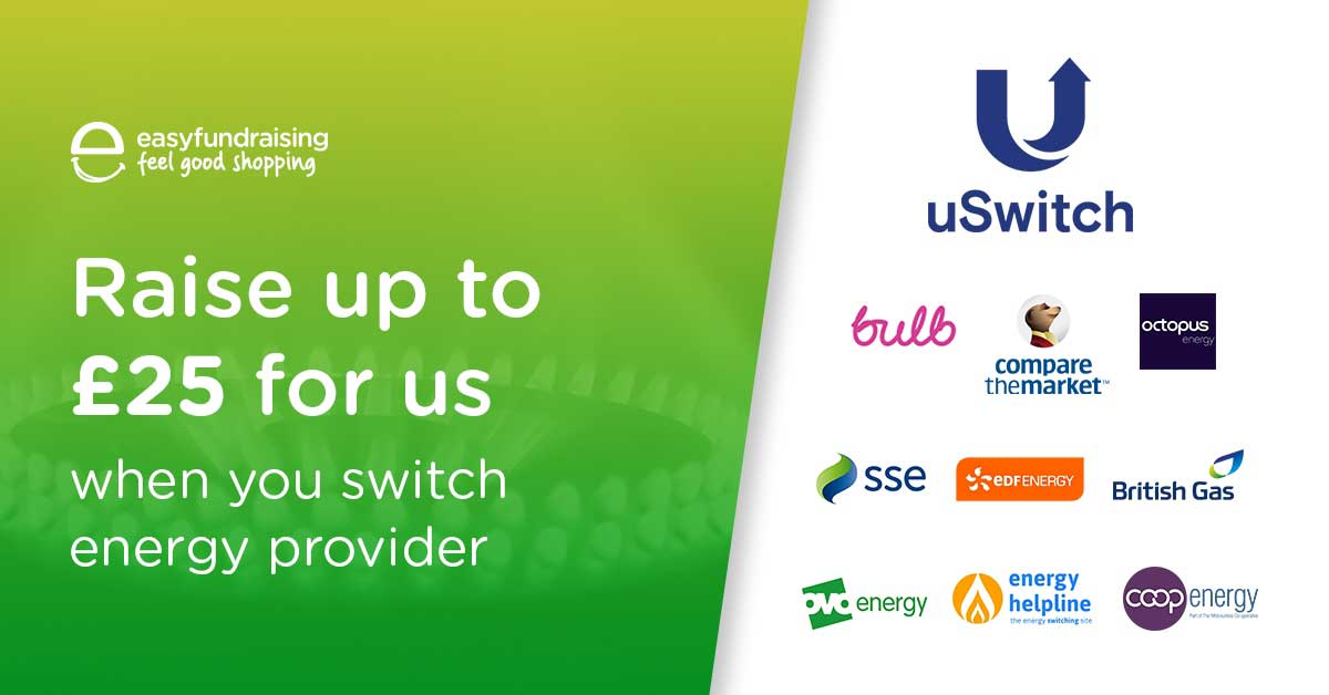 Energy providers that donate to St Annes CC when you shop via our Easy Fundraising page or the app