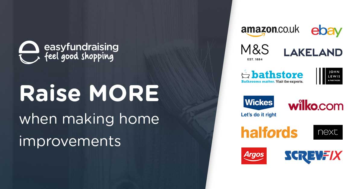 Home & garden retailers that donate to St Annes CC when you shop via our Easy Fundraising page or the app