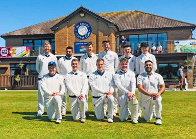 1st XI St Annes CC 2019 - Capt Nathan Armstrong