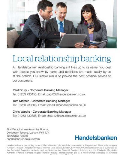 Handelsbanken sponsors St Annes CC