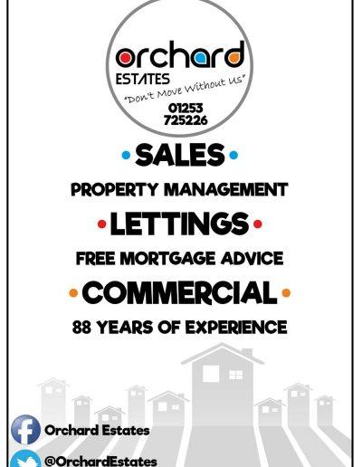 Orchard Estates sponsors St Annes CC