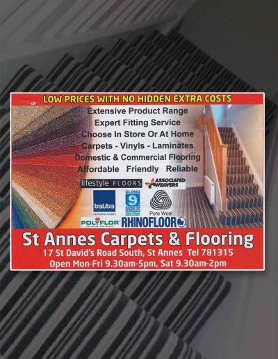 St Annes Carpets sponsors St Annes CC
