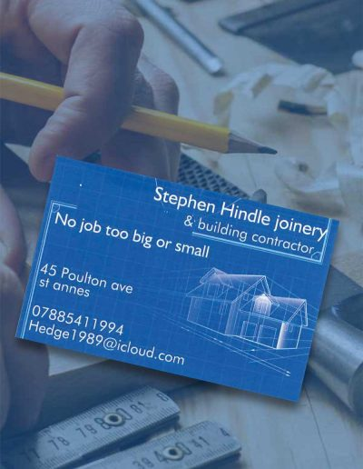 Stephen Hindle Joinery & Building Contractors sponsors St Annes CC