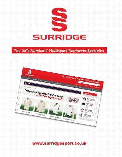 Surridge sponsors St Annes CC