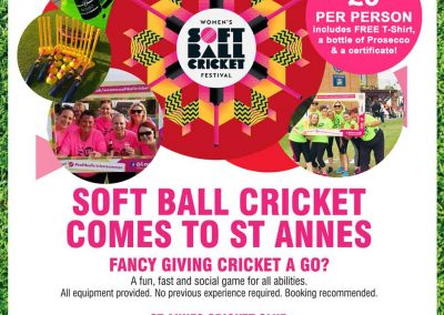 Join in the fun at the Womens Softball Festival 17 May 2019