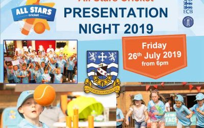 All Stars Cricket Presentation – Fri 26 Jul 2019