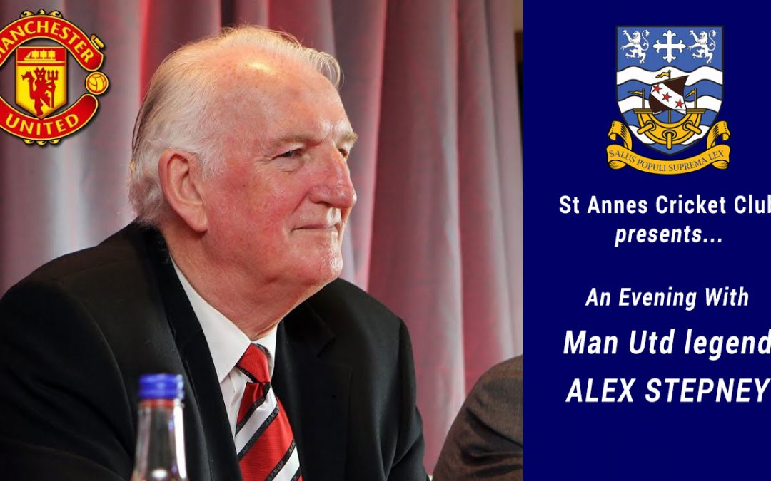 Man Utd Legend Alex Stepney, An Evening With – Tues 29 Oct 2019