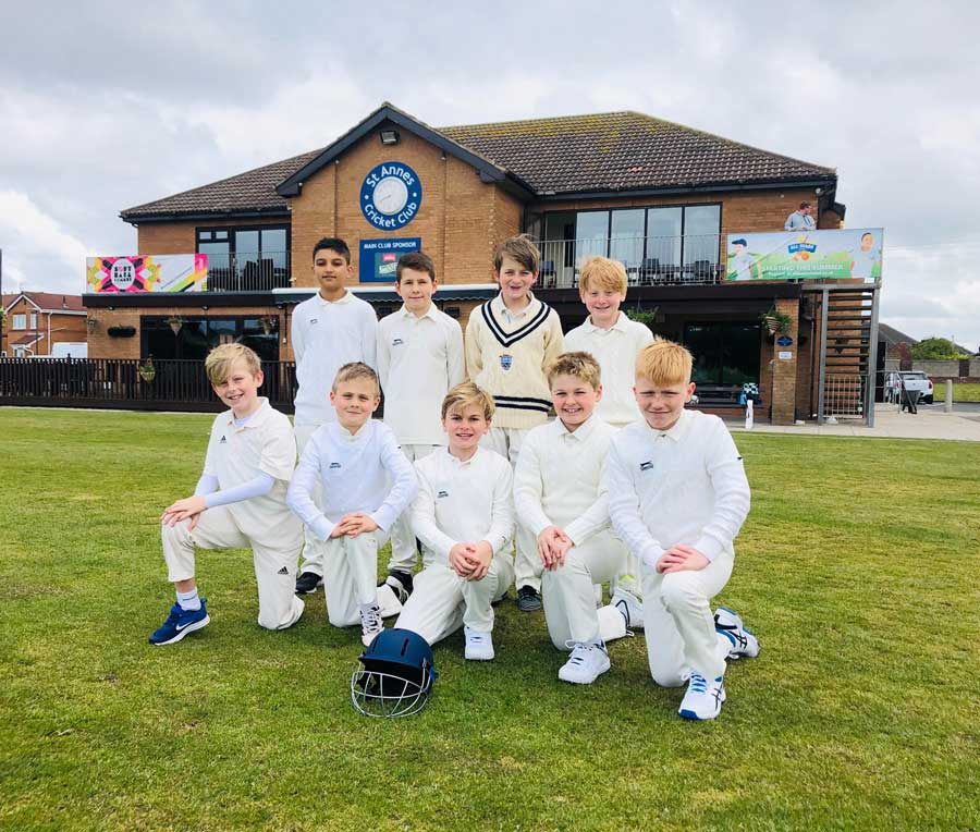 U10A 2019 St Annes CC - undefeated - played 8, won 8