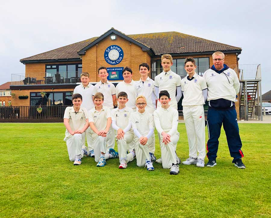 U13 2019 St Annes CC through to Finals Day