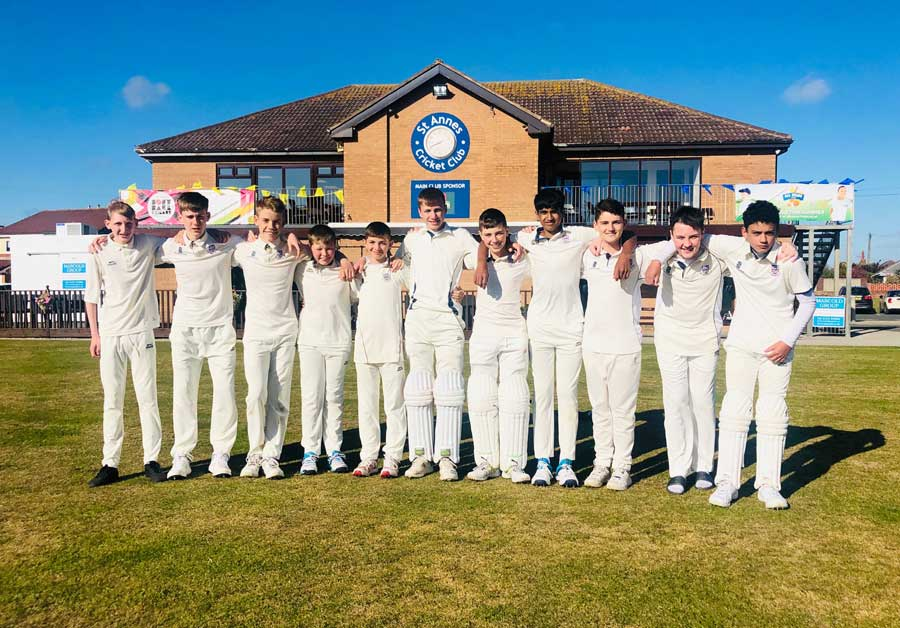 U14 2019 St Annes CC Palace Shield League Runners Up