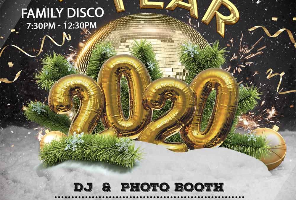 New Years Eve Family Disco – DJ & Photo Booth – Kids Free Entry!