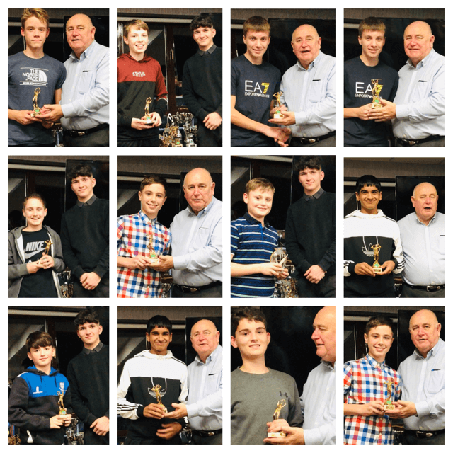2019 Presentation Night Juinior award winners