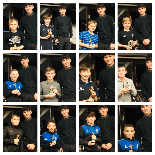 2019 Presentation Night Junior award winners
