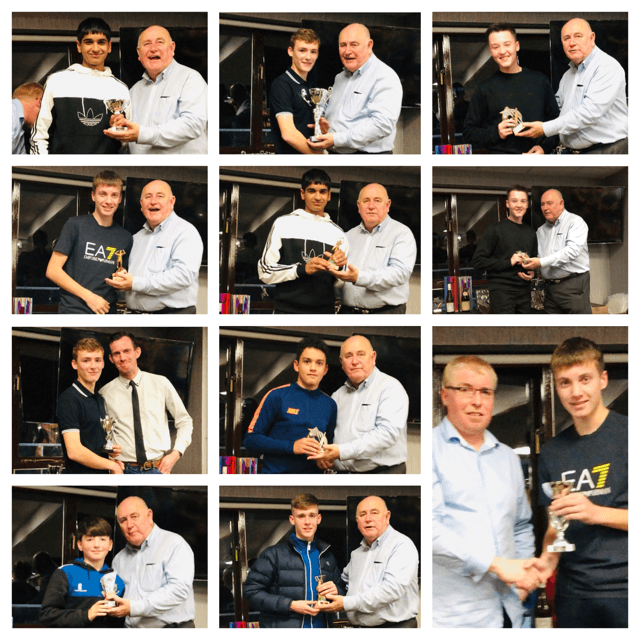 2019 Presentation Night Junior awards winners