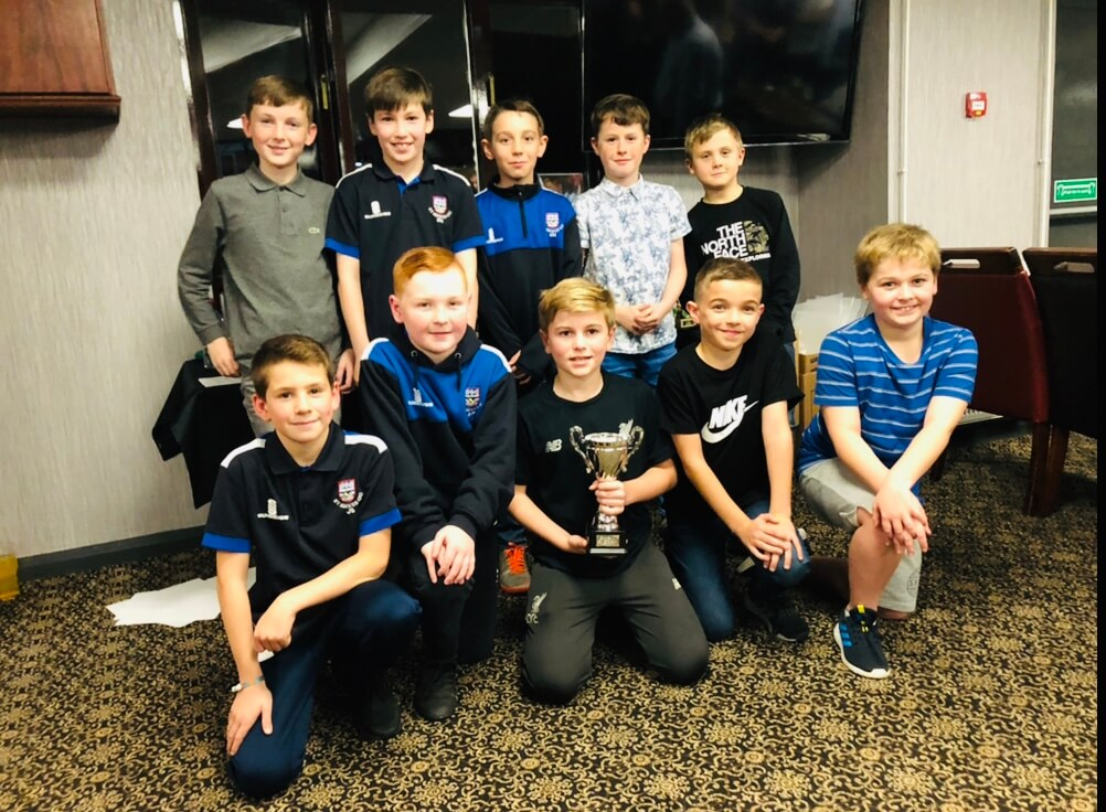 2019 Presentation Night Juniors U10s Team of the Year Award St Annes CC
