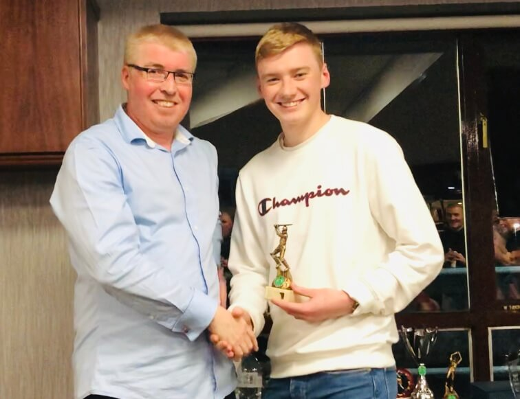 2019 Presentation Night Seniors 2nd XI Batting Award Alex Bradley St Annes CC