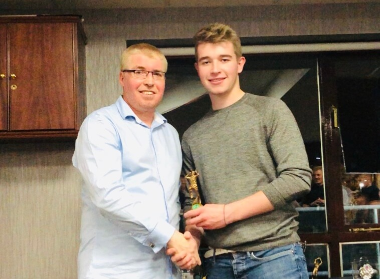 2019 Presentation Night Seniors 2nd XI Bowling Award Curtis Fletcher St Annes CC
