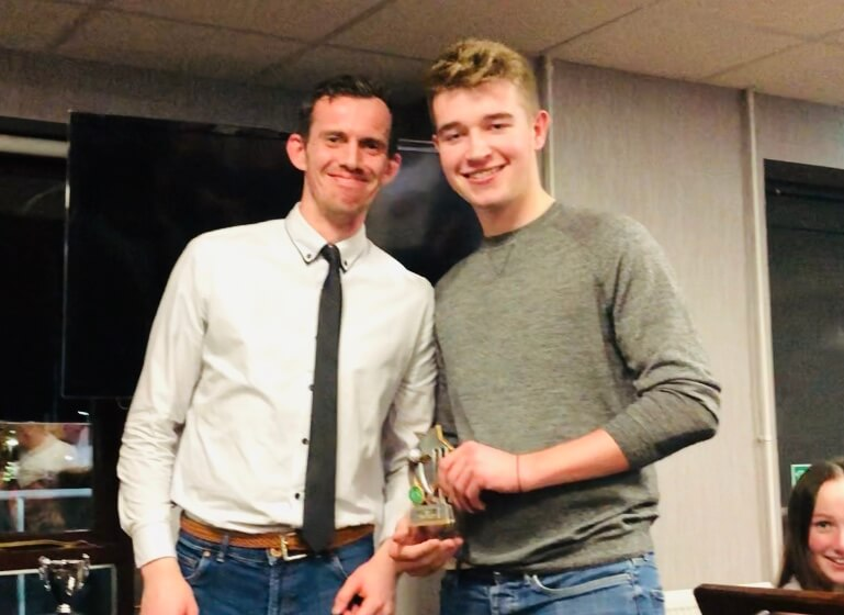 2019 Presentation Night Seniors 2nd XI Captains Award Curtis Fletcher St Annes