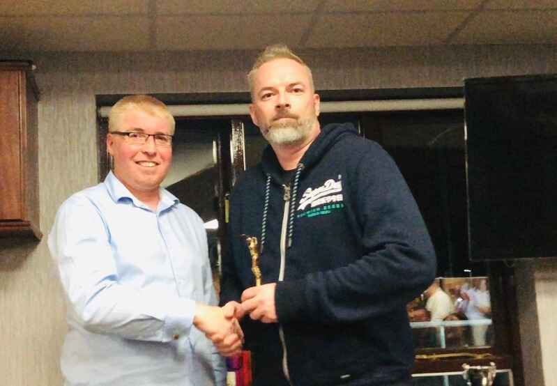 2019 Presentation Night Seniors 3rd XI Batting Award Stuart Mabe St Annes CC
