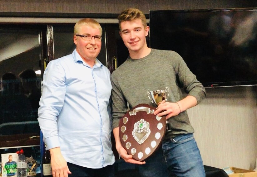 2019 Presentation Night Seniors Graham Tindall Trophy Curtis Fletcher St Annes