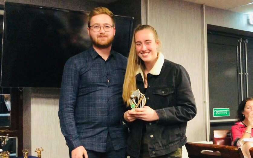 2019 Presentation Night Seniors W&G Most Imporved Player Ellie St Annes CC