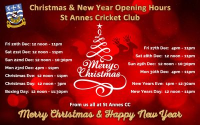 Pop In!  Our Xmas & New Year Opening Hours