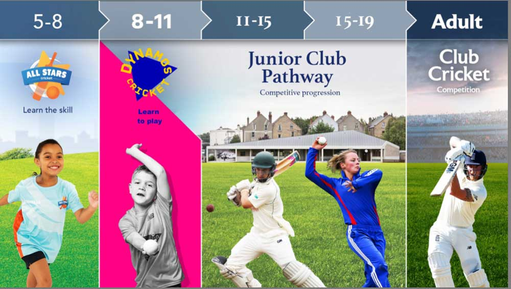 Dynamos Cricketwill support the pathway for junior players