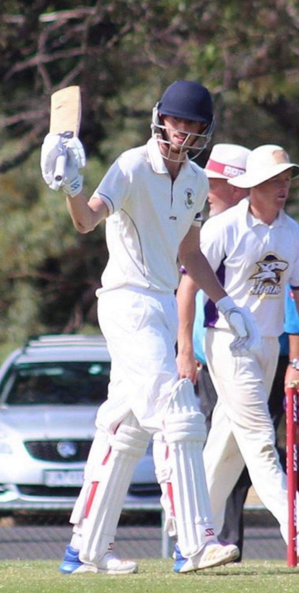Ryan Ayres Professional Cricketer opening bowler & top order batsman