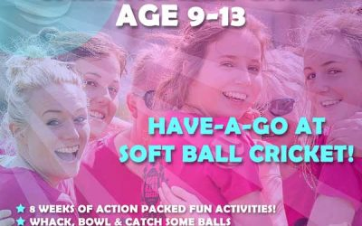 Calling All Girls Age 9-13: Have-A-Go Soft Ball Cricket Activity!