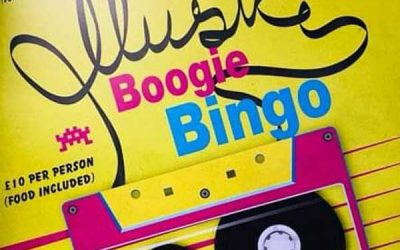 Boogie Bingo Music & Games Night! Fri 10 April 2020