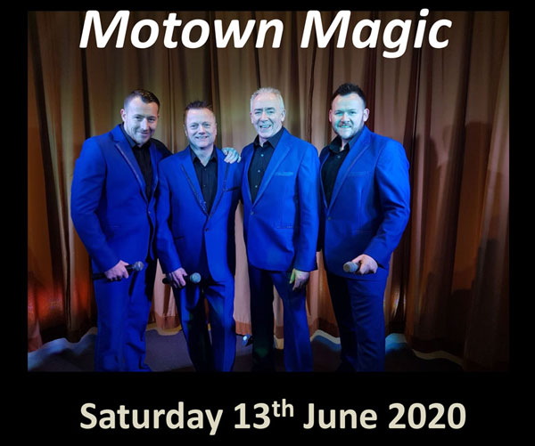 Motown Magic, The UK's No.1 Soul Tribute Act – Sat 13 June 2020