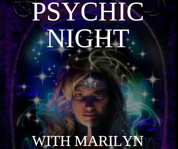Psychic Night & Hot Pot Supper with Marilyn – Tues 21 Apr 2020