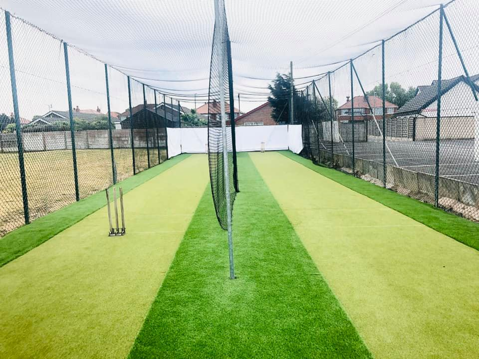 Outdoor nets at St Annes CC
