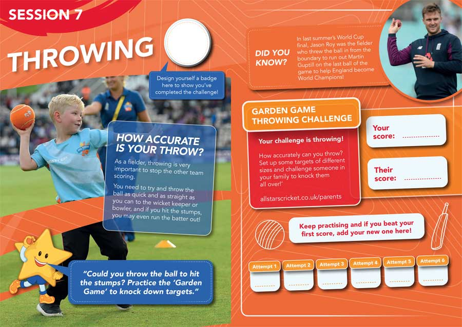 FREE All Stars Cricket 2020 Activity Booklet!