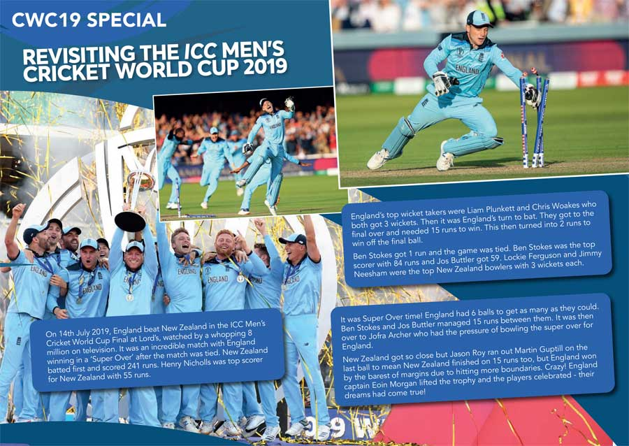 FREE All Stars Cricket 2020 Activity Booklet - Cricket World Cup 2019 Special